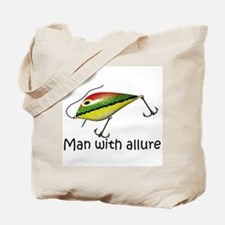 Man With Allure Tote Bag