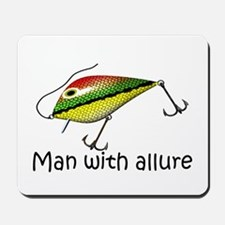 Man With Allure Mousepad