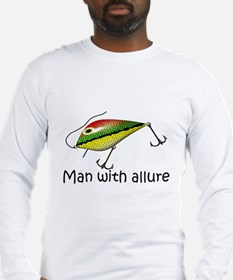 Man With Allure Long Sleeve T-Shirt
