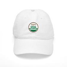 100% USDA Organic... Baseball Baseball Cap