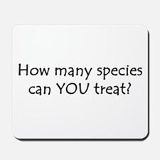 How many species Mousepad