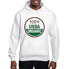 100% USDA Organic... Hoodie