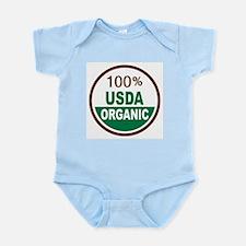 100% USDA Organic... Infant Bodysuit