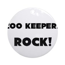 Zoo Keepers ROCK Ornament (Round)