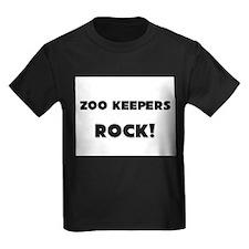 Zoo Keepers ROCK Kids Dark T-Shirt