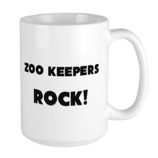 Zoo Keepers ROCK Large Mug