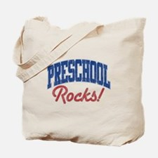 PRESCHOOL ROCKS! Tote Bag