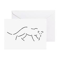 Panther Greeting Cards (Pk of 10)