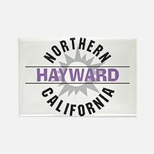 Hayward California Rectangle Magnet