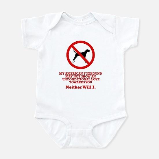 American Foxhound Infant Bodysuit