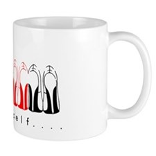 heel thyself mug