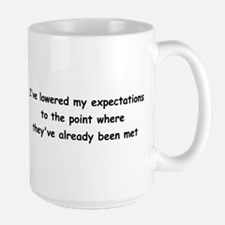 Expectations Large Mug