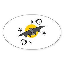 Halloween Bats Decal