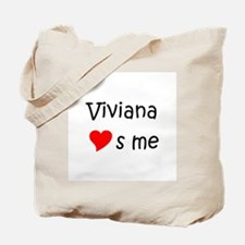 Cute Viviana Tote Bag