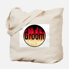 Groom (Flames) Tote Bag