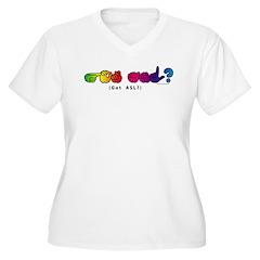 Got ASL? Rainbow CC T-Shirt