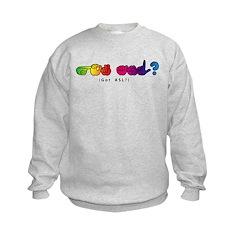 Got ASL? Rainbow CC Sweatshirt