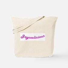 Jayceelicious Tote Bag