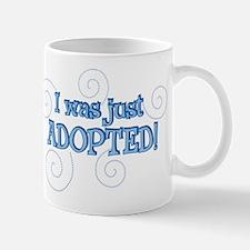 JUST ADOPTED 1 Mug