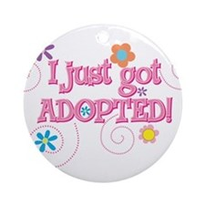 JUST ADOpted 33 Ornament (Round)