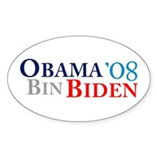 Obama Bin Biden Oval Decal