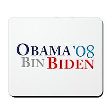 Obama Bin Biden Mousepad