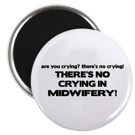 There's No Crying in Midwifery Magnet