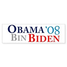 Obama Bin Biden Bumper Bumper Sticker
