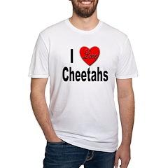 I Love Cheetahs (Front) Shirt