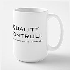 Q Controll Large Mug