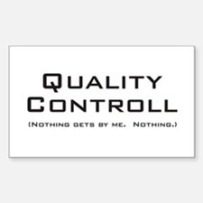 Q Controll Rectangle Decal