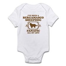 Bergamasco Sheepdog Infant Bodysuit