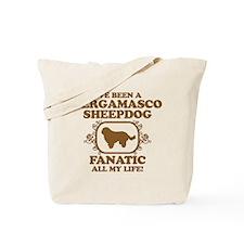 Bergamasco Sheepdog Tote Bag