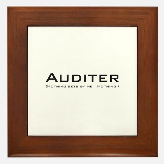 Auditer Framed Tile