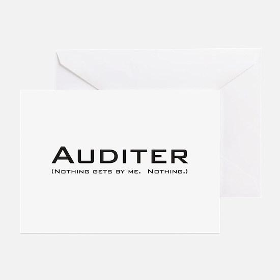 Auditer Greeting Cards (Pk of 20)