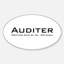 Auditer Oval Decal