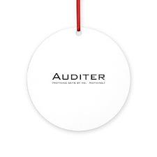 Auditer Ornament (Round)