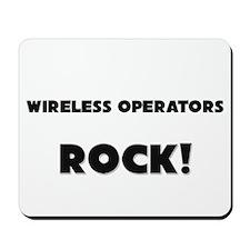 Wireless Operators ROCK Mousepad