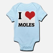 I Love Moles Infant Creeper