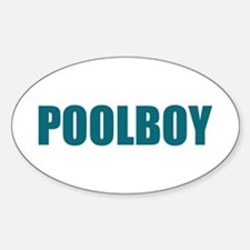 POOLBOY Oval Decal
