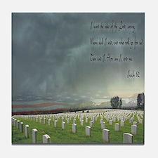 Isaia 6:2 Tile Coaster