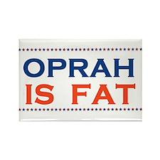 FAT OPRAH Rectangle Magnet