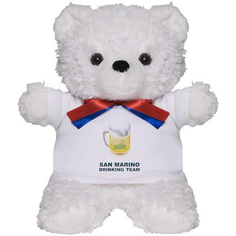 San Marino Drinking Team Teddy Bear