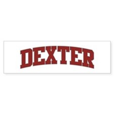 DEXTER Design Bumper Bumper Sticker