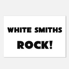 White Smiths ROCK Postcards (Package of 8)