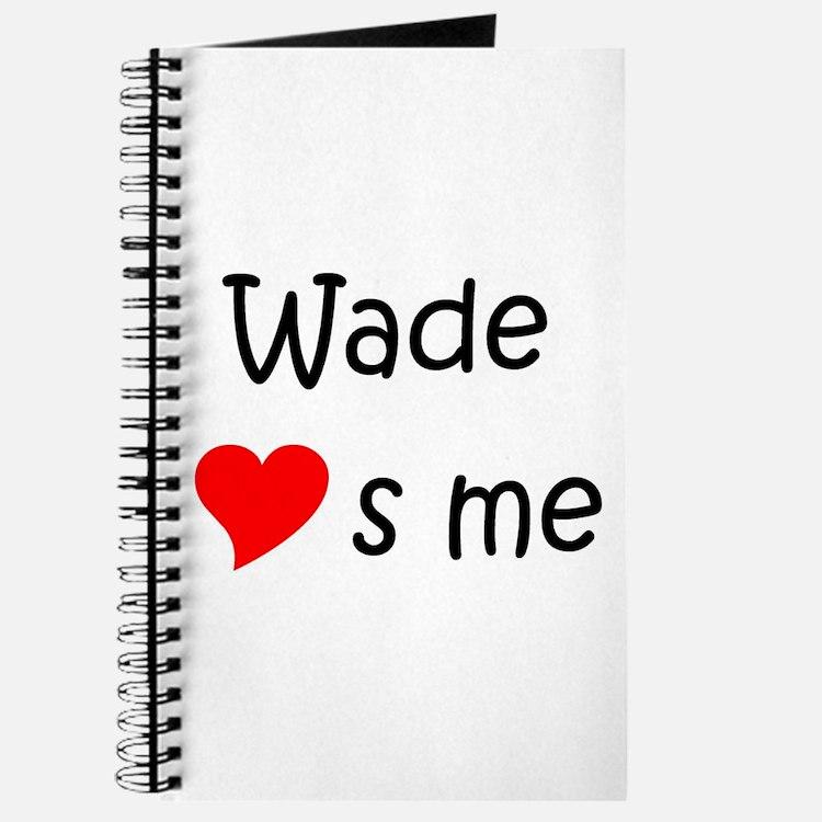 Cute Wade Journal