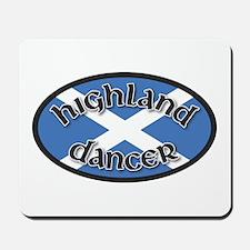 Highland Dancer Mousepad