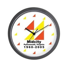 Funny Midcity Wall Clock