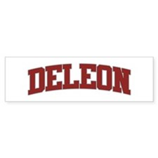 DELEON Design Bumper Bumper Sticker