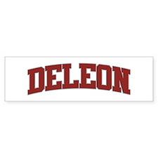DELEON Design Bumper Bumper Stickers